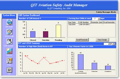 Aviation Safety Software